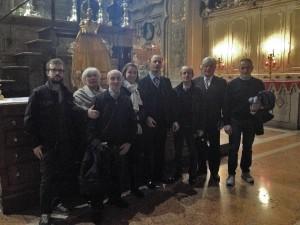 Cattedrale di Ferrara 18 ottobre 2015 Manganelli saluta la nostra corale